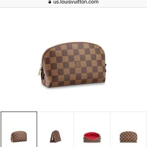NWT Louis Vuitton Cosmetic Pouch